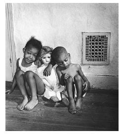 "Watson Grandchildren (also known as Black Children with White Doll, 1942), Gordon Parks. Reformers such as psychologists Kenneth and Mamie Clark argued that the ""separate but equal"" doctrine of Plessy v. Ferguson was anything but equal. The Clarks' work showed that segregation reinforced notions of white supremacy to the point that black children preferred playing with white dolls over dolls of their own color.© CORBIS."