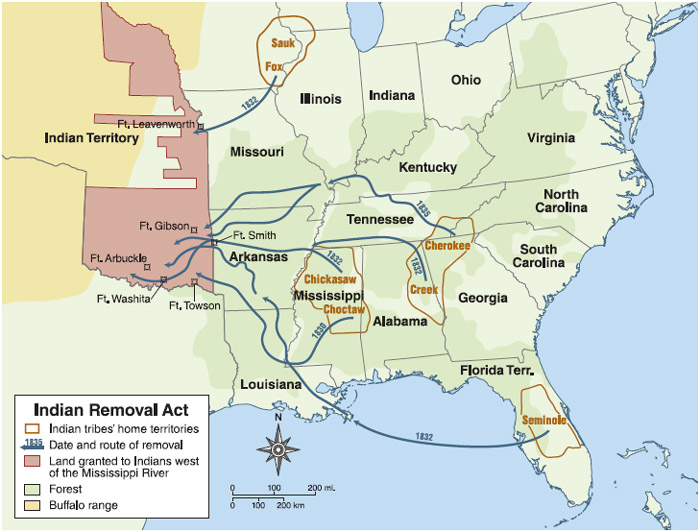 Indian Removal Act Student Resources in C...