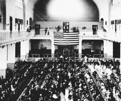 a history of the ellis island in the united states Ellis island, a small island in new york harbor, served as the site of american's first federal immigration station from 1892 to 1954, over 12 million immigrants entered the united states through ellis island.