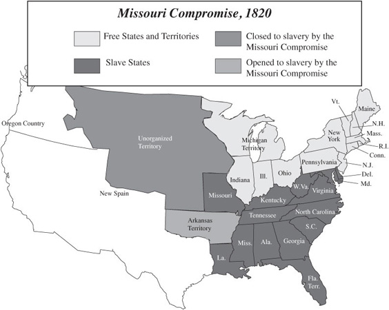 Missouri Compromise of 1820  Opposing Viewpoints in Context