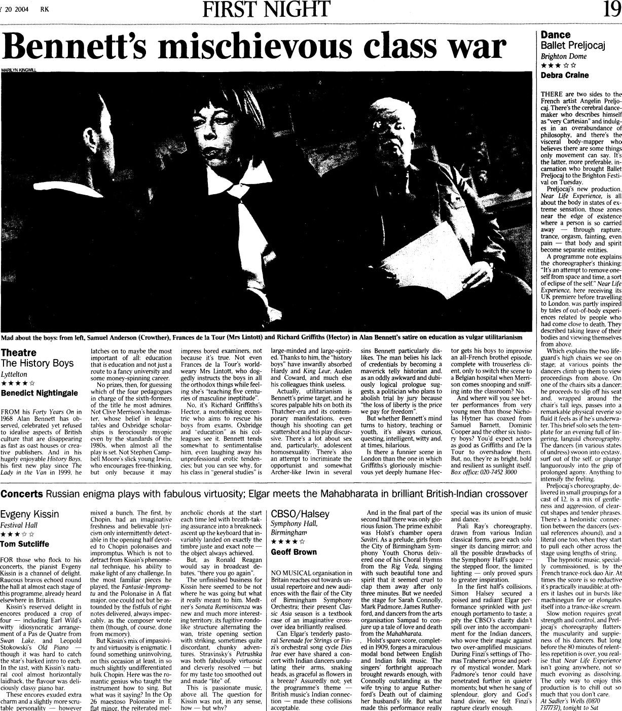 The greatest plays of all time   Saturday Review   The Times