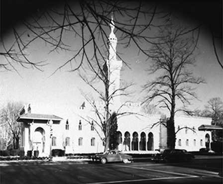 New churches were built in large numbers during the 1940s, including synagogues and mosques. Twelve countries supplied the funds for the mosque on Massachusetts Avenue, Washington, D.C. AP/Wide World Photos. Reproduced by permission.