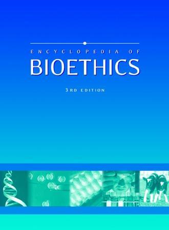 Encyclopedia of Bioethics Book