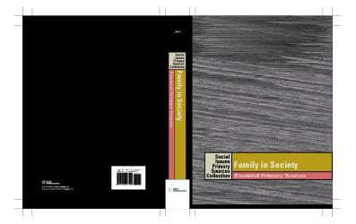 Family in Society: Essential Primary Sources