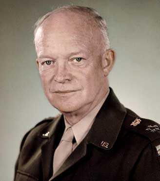 Dwight D. Eisenhower.