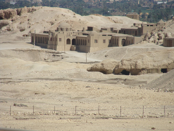 Egyptian houses.
