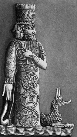The Babylonian god Marduk.