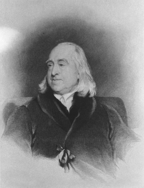 Click here for the media record of Jeremy Bentham