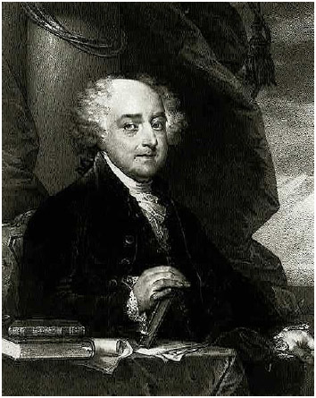 John Adams (1735–1826), one of the Founders and the secondpresident of the United States.