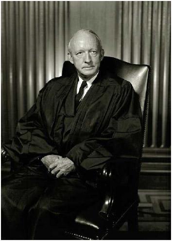 Hugo Black, Alabama senator and associate justice of the US Supreme Court, 1937–1971.