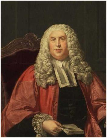 William Blackstone (1723–1780), English jurist whose writings influenced the American Founders.
