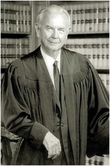 William Brennan, associate justice of the US Supreme Court, 1956–1990.