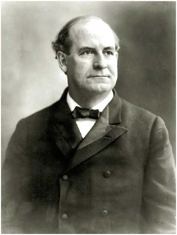 William Jennings Bryan (1860–1925), lawyer and politician.