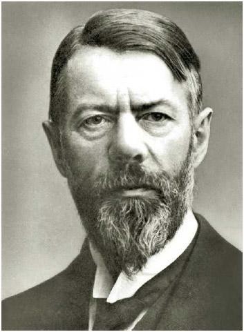 Max Weber (1864–1920), German social scientist.