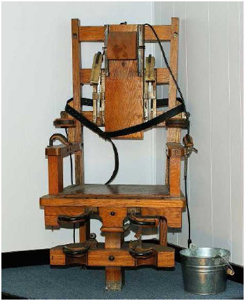 """The """"Old Sparky"""" model of electric chair has been used to carry out the death sentence in many states."""