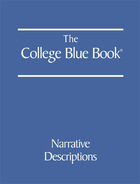 The College Blue Book, ed. 45, v.  Cover