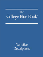 The College Blue Book, ed. 46