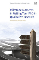 Milestone Moments in Getting your PhD in Qualitative Research, ed. , v.