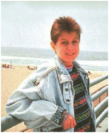 In 1984, at the onset of the AIDS epidemic, Ryan White became infected with the HIV virus through a blood transfusion.