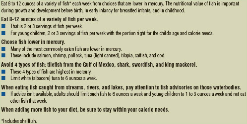 Advice from the U.S. Food and Drug Administration on Fish Consumption