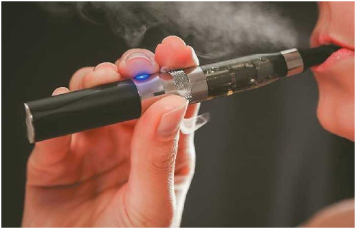 Electronic cigarettes, also known as e-cigarettes, are battery-operated products that turn chemicals, including highly addictive nicotine, into an aerosol that is inhaled by the user.