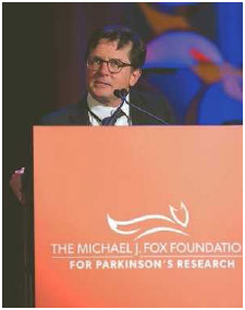 Actor Michael J. Fox was diagnosed with Parkinson's disease at the age of 29.