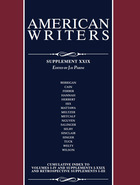 American Writers, Supplement 29, ed. 29, v.