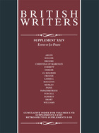 British Writers, Supplement 25, ed. , v.