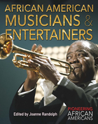African American Musicians & Entertainers, ed. , v.