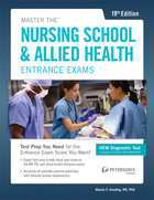 Master the Nursing School & Allied Health Entrance Exams, ed. 19, v.