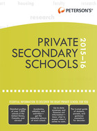 Peterson's® Private Secondary Schools 2015-16, ed. 36