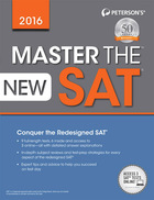 Master the New SAT® 2016, ed. , v.
