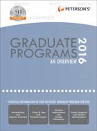 Peterson's Graduate & Professional Programs, ed. 50