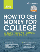 Peterson's® How to Get Money for College 2016, ed. 33, v.