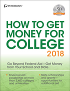 Peterson's® How to Get Money for College 2018, ed. 35, v.