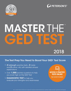 Peterson's® Master the GED® Test 2018