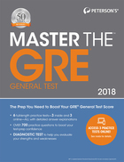 Peterson's® Master the GRE® General Test 2018, ed. 24, v.