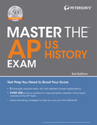 Peterson's® Master the™ AP® U.S. History Exam, ed. 3, v.