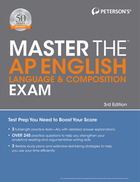 Peterson's Master the™ AP® English Language and Composition Exam, ed. 3, v.