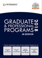Peterson's® Graduate & Professional Programs, ed. 52