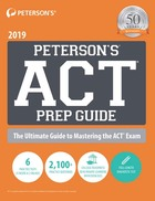 Peterson's ACT Prep Guide, ed. 4, v.