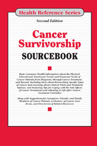 Cancer Survivorship Sourcebook, ed. 2, v.