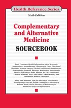 Complementary and Alternative Medicine Sourcebook, ed. 6, v.