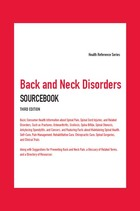 Back and Neck Disorders Sourcebook, ed. 3, v.