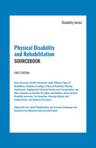 Physical Disability and Rehabilitation Sourcebook, ed. , v.  Icon
