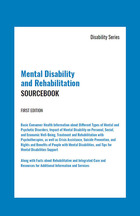 Mental Disability and Rehabilitation Sourcebook, ed. , v.  Icon