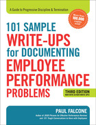 101 Sample Write-ups for Documenting Employee Performance Problems, ed. 3