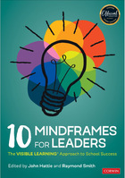 10 Mindframes for Leaders, ed. , v.
