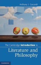 The Cambridge Introduction to LIterature and Philosophy, ed. , v.