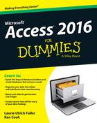 Access 2016 For Dummies®, ed. , v.